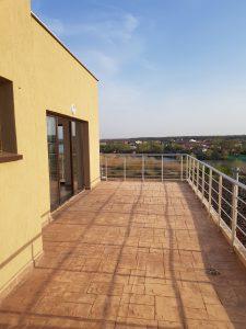 נוף מהמרפסת בקורבאינקה